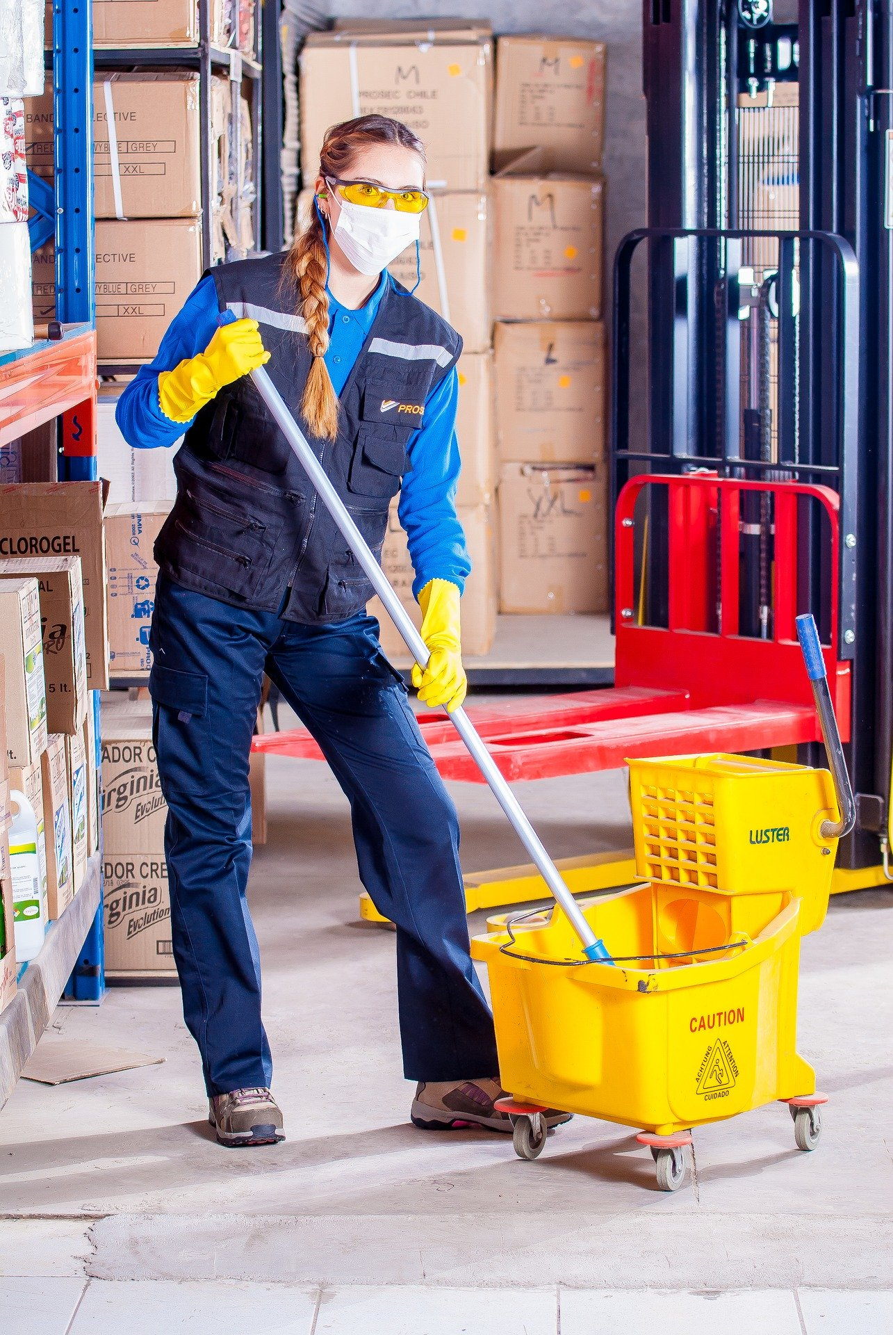 Industrial tile and grout cleaners Melbourne